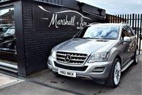 2011 MERCEDES-BENZ M CLASS 3.0 ML300 CDI BLUEEFFICIENCY GRAND EDITION 5d AUTO 204 BHP £10899.00