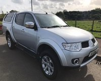 USED 2013 13 MITSUBISHI L200 2.5 DI-D 4X4 BARBARIAN NO VAT 4dr PICK UP  AUTO 175 BHP 6 MONTHS PARTS+ LABOUR WARRANTY+AA COVER
