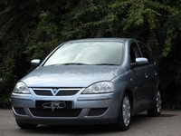USED 2006 06 VAUXHALL CORSA 1.4 DESIGN 16V 5d AUTO 90 BHP ONLY 56K FROM NEW A/C VGC