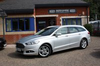 USED 2015 64 FORD MONDEO 2.0 TITANIUM TDCI 5d AUTO 148 BHP FULL SERVICE HISTORY!