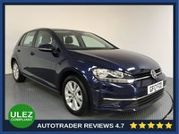 USED 2017 17 VOLKSWAGEN GOLF 1.4 SE NAVIGATION TSI BLUEMOTION TECHNOLOGY DSG 5d AUTO 124 BHP FULL SERVICE HISTORY - SAT NAV - PARKING SENSORS - ULEZ OK - AIR CON - BLUETOOTH - DAB - CRUISE