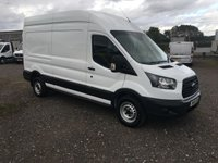 2018 FORD TRANSIT 350 L3 H3 2.0 130 LWB HIGH ROOF PANEL VAN £13695.00