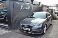 USED 2015 15 AUDI A3 2.0 SPORTBACK TDI QUATTRO S LINE 5d AUTO 182 BHP STUNNING CAR INSIDE AND OUT - 5 MAIN DEALER STAMPS TO 65K - BLUETOOTH - A/C - QUATTRO S LINE