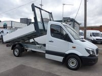 USED 2014 64 MERCEDES-BENZ SPRINTER 313 CDI MWB AUTOMATIC TIPPER, 130 BHP [EURO 5]