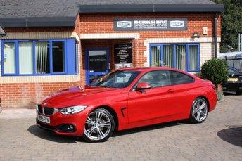 2015 BMW 4 SERIES 2.0 420D SPORT 2d AUTO 188 BHP £15890.00
