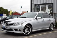 USED 2008 58 MERCEDES-BENZ C CLASS 1.8 C180 KOMPRESSOR SPORT 5d AUTO 155 BHP STUNNING C-CLASS WITH LOW MILEAGE! MUST BE SEEN!