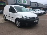 2013 VOLKSWAGEN CADDY 1.6 C20 TDI STARTLINE BLUEMOTION TECHNOLOGY 1d 101 BHP £5500.00