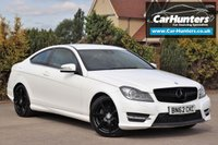 USED 2012 62 MERCEDES-BENZ C CLASS 2.1 C220 CDI BLUEEFFICIENCY AMG SPORT 2d 170 BHP