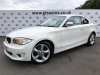 USED 2012 12 BMW 1 SERIES 118D 2.0 EXCLUSIVE EDITION COUPE 143 BHP LEATHER