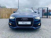 USED 2015 64 AUDI A3 1.6 TDI S LINE 4d 109 BHP BEAUTIFUL SCUBA BLUE S LINE SALOON  MODEL
