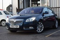 USED 2012 62 VAUXHALL INSIGNIA 2.0 ELITE NAV CDTI 5d AUTO 157 BHP STUNNING INSIGNIA WITH FSH & NAV! TOP SPEC VEHICLE!