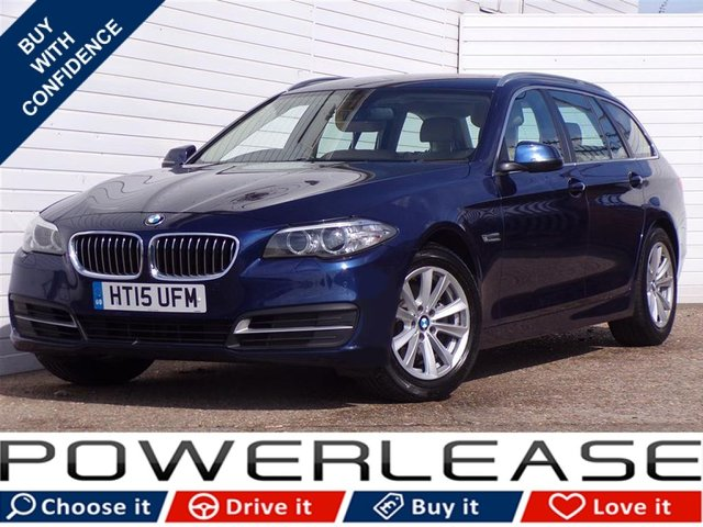 USED 2015 15 BMW 5 SERIES 2.0 518D SE TOURING 5d AUTO 148 BHP
