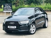 USED 2015 15 AUDI Q3 2.0 TDI S LINE NAV 5d 148 BHP Sat Nav, Front / Rear parking sensors, Cruise control, Rear privacy