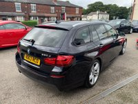 USED 2013 63 BMW 5 SERIES 3.0 530d M Sport Touring 5dr FULL BMW SERVICE HISTORY
