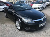 USED 2009 09 VAUXHALL ASTRA 1.8 i Sport Twin Top 2dr Automatic
