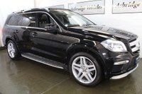 USED 2015 L MERCEDES-BENZ GL CLASS 3.0 GL350 CDI BlueTEC AMG Sport 4MATIC (s/s) 5dr PAN ROOF! REAR DVD'S! EURO6!