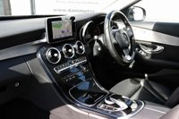USED 2015 65 MERCEDES-BENZ C CLASS 2.1 C220d Sport 7G-Tronic+ (s/s) 4dr 1 OWNER*SATNAV*PAN ROOF*