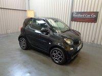 2015 SMART FORTWO 0.9 PRIME PREMIUM T 2d AUTO 90 BHP £7495.00