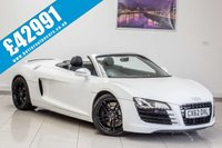 USED 2012 62 AUDI R8 4.2 SPYDER V8 QUATTRO 2d AUTO 430 BHP All Our Cars are Serviced with a Brand New MOT & Inspected to ensure they are ready before Handover