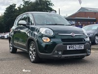 USED 2013 63 FIAT 500L 1.2 MULTIJET TREKKING DUALOGIC 5d AUTO 85 BHP SERVICE RECORD *   2 KEYS *  FULL YEAR MOT *  2 PREVIOUS KEEPERS *  PARKING AID *  17 INCH ALLOYS*