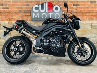 USED 2016 16 TRIUMPH SPEED TRIPLE 1050 94R  Black Widow Exhausts