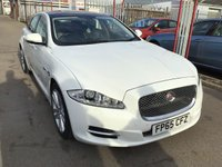 USED 2015 65 JAGUAR XJ 3.0 D V6 PREMIUM LUXURY 4d AUTO 275 BHP White diesel xj, Automatic, leather, panoramic roof, stunning example