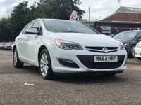 USED 2013 63 VAUXHALL ASTRA 2.0 ELITE CDTI 5d AUTO 163 BHP FULL LEATHER +   FRONT AND REAR PARKING AID *  MEDIA CONNECTIVITY +   CRUISE CONTROL *  DUAL ZONE CLIMATE CONTROL *