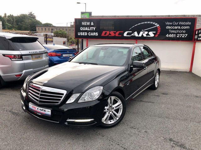 2010 MERCEDES-BENZ E CLASS 2.1 E250 CDI BLUEEFFICIENCY AVANTGARDE 4d AUTO 204 BHP