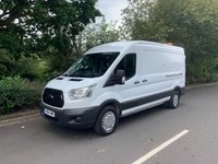 USED 2014 64 FORD TRANSIT 2.2 125BHP T350 L3 H2 LWB MED ROOF A/C FSH 1 OWNER