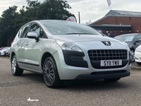 USED 2011 11 PEUGEOT 3008 1.6 ACTIVE HDI 5d AUTO 112 BHP TRACTION CONTROL +  SERVICE RECORD *  CLIMATE CONTROL *