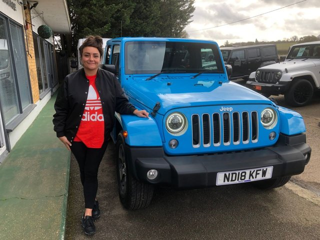 2018 18 JEEP WRANGLER 2.8 CRD OVERLAND 2d AUTO....Reserved For Katie