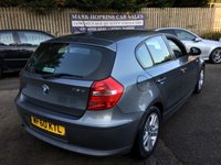 USED 2010 60 BMW 1 SERIES 2.0 118D SE 5d 141 BHP 58K 2OWNERS 6SPD DAB RADIO CRUISE DUAL A/C PARKING SENS EXC CONDITION