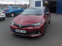 2018 TOYOTA AURIS 1.8 VVT-I DESIGN 5d AUTO 135 BHP £14995.00