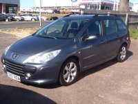 USED 2007 57 PEUGEOT 307 1.6 SW S HDI 5d 89 BHP * 61000 MILES, 2 OWNERS * 61000 MILES, 2 OWNERS FROM NEW, ECONOMICAL