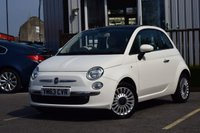 USED 2014 63 FIAT 500 1.2 LOUNGE 3d 69 BHP STUNNING FIAT 500 WITH ONE OWNER! MUST BE SEEN!
