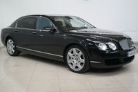 USED 2008 08 BENTLEY CONTINENTAL FLYING SPUR 6.0 FLYING SPUR 5 SEATS 4d AUTO 550 BHP