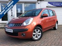USED 2007 07 NISSAN NOTE 1.6 SE 5d AUTO 109 BHP SUPPLIED WITH 12 MONTHS MOT, LOVELY CAR TO DRIVE