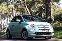 USED 2018 18 FIAT 500 1.2 LOUNGE 3d