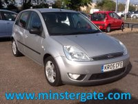 USED 2005 05 FORD FIESTA 1.4 GHIA TDCI 5d 68 BHP * 59000 MILES, LEATHER, £30 TAX * 59000 MILES, LEATHER, £30 TAX, ECONOMICAL