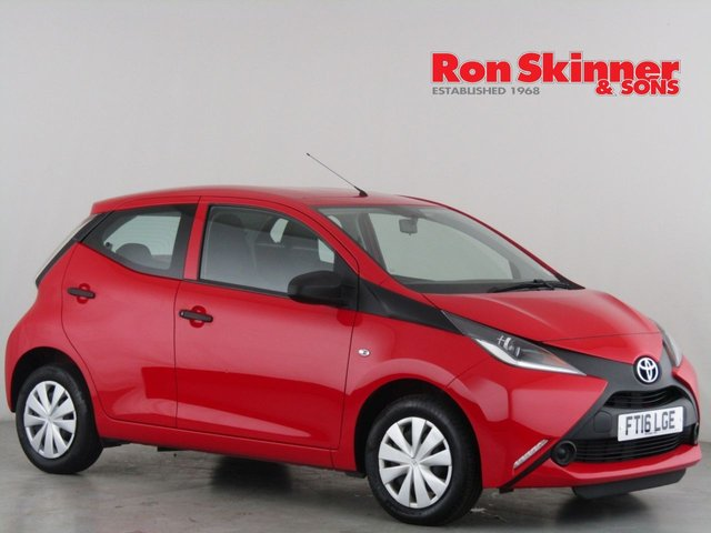 View our 2016 16 TOYOTA AYGO 1.0 VVT-I X 5d 69 BHP