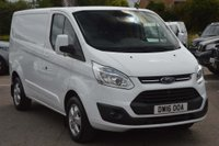 USED 2016 16 FORD TRANSIT CUSTOM 2.2 TDCi 270 L1H1 Limited Panel Van 5dr FORD SERVICE HISTORY*FINANCE