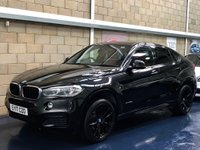 USED 2017 17 BMW X6 3.0 30d M Sport SUV 5dr Diesel Auto xDrive (s/s) (258 ps) +FULL SERVICE+WARRANTY+FINANCE