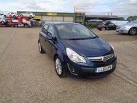 2011 VAUXHALL CORSA 1.4 SE 5d AUTO 98 BHP £5495.00