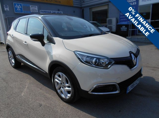 USED 2016 66 RENAULT CAPTUR 0.9 DYNAMIQUE NAV TCE 5d 90 BHP FANTASTIC CONDITION AND DRIVE