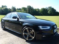 2014 AUDI A4 2.0 TDI BLACK EDITION 4d 148 BHP SOLD