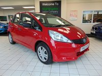 USED 2013 63 HONDA JAZZ 1.2 I-VTEC S 5d 89 BHP 1 OWNER FROM NEW + FULL MAIN DEALER SERVICE HISTORY + ALLOYS + ISOFIX + CD RADIO + ELECTRIC MIRRORS + ELECTRIC WINDOWS + CENTRAL LOCKING + LOW MILES