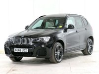 USED 2016 66 BMW X3 3.0 30d M Sport Sport Auto xDrive 5dr ***** £5,360 of EXTRAS *****