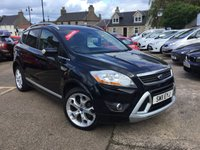 USED 2011 11 FORD KUGA 2.0 TITANIUM TDCI AWD 5d 163 BHP SENSIBLE MILEAGE DIESEL ESTATE  WITH FULL SERVICE HISTORY