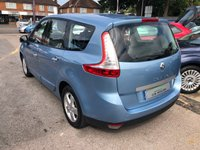 USED 2010 60 RENAULT SCENIC 1.5 DYNAMIQUE TOMTOM DCI FAP 5d 109 BHP GREAT SPEC AND ECONOMY DIESEL SEVEN SEATER, SUPPLIED WITH A NEW MOT