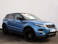 USED 2013 63 LAND ROVER RANGE ROVER EVOQUE 2.2 SD4 DYNAMIC LUX 5d AUTO 190 BHP Stunning Colour Combination…Mauritius Blue Metallic with Cirrus Leather